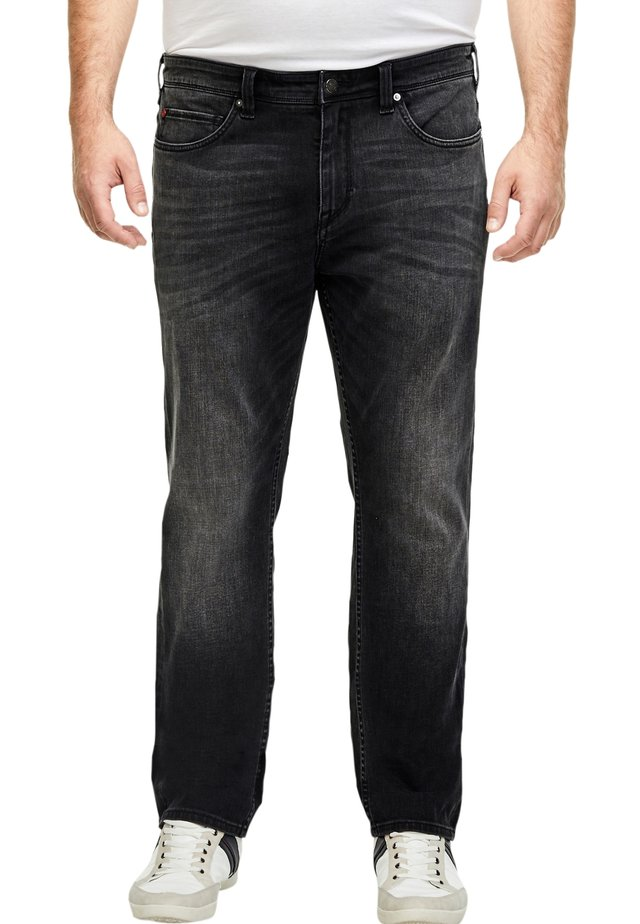 HYPERSTRETCH - Relaxed fit jeans - dark grey