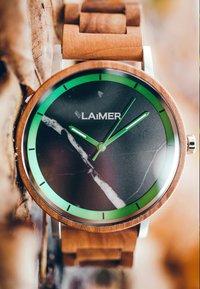LAIMER - LUCA - Watch - silber/braun - 6