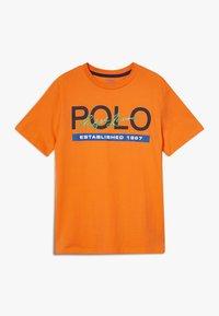 Polo Ralph Lauren - T-Shirt print - bright signal orange - 0