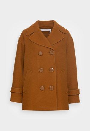 Klasický kabát - forest brown