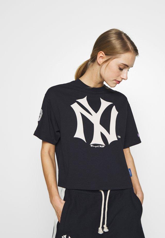 MLB NEW YORK YANKEES CREWNECK  - Pelipaita - dark blue