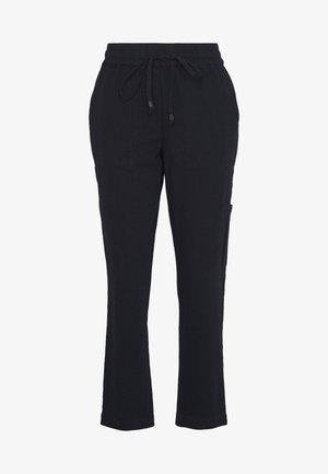 KAPOCKY PANTS - Trousers - black deep