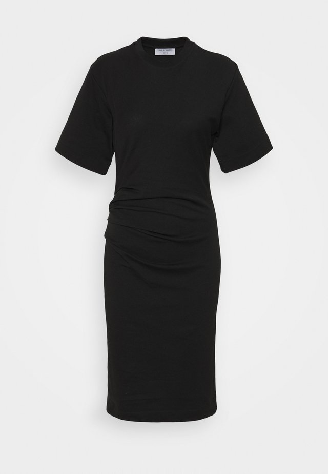IZLY - Žerzejové šaty - black