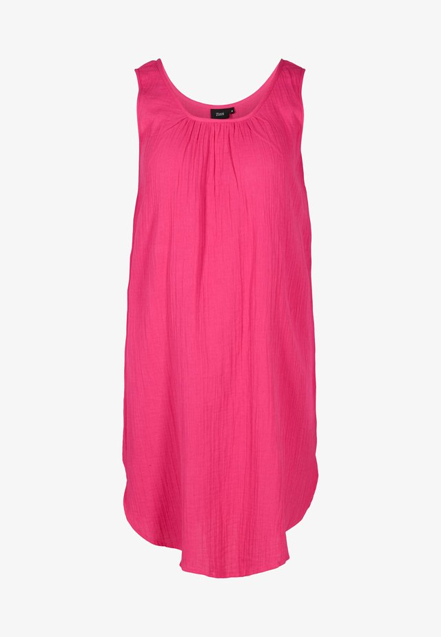 Korte jurk - fuchsia purple