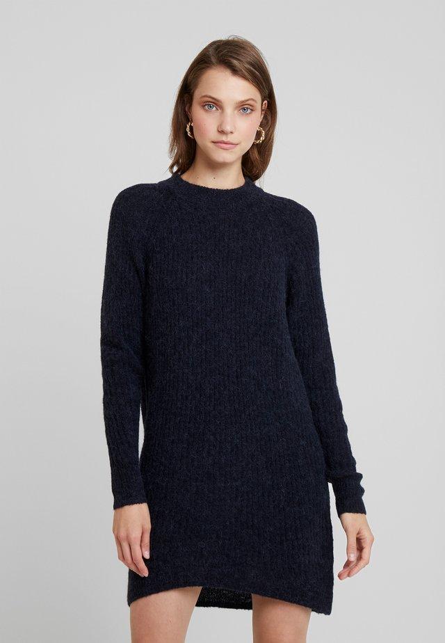 ELLEN - Pletené šaty - sky captain