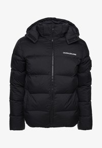 Calvin Klein Jeans - HOODED DOWN PUFFER  - Winter jacket - black - 11