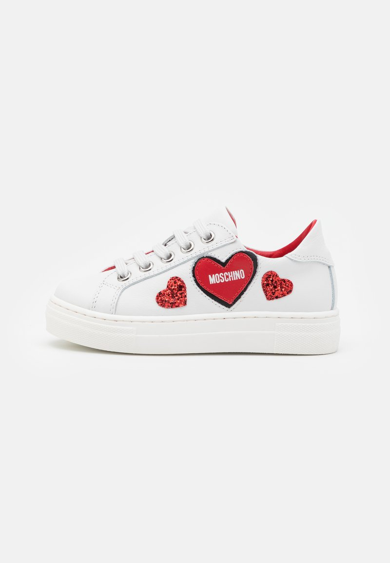 MOSCHINO - EXCLUSIVE UNISEX - Sneakers basse - white