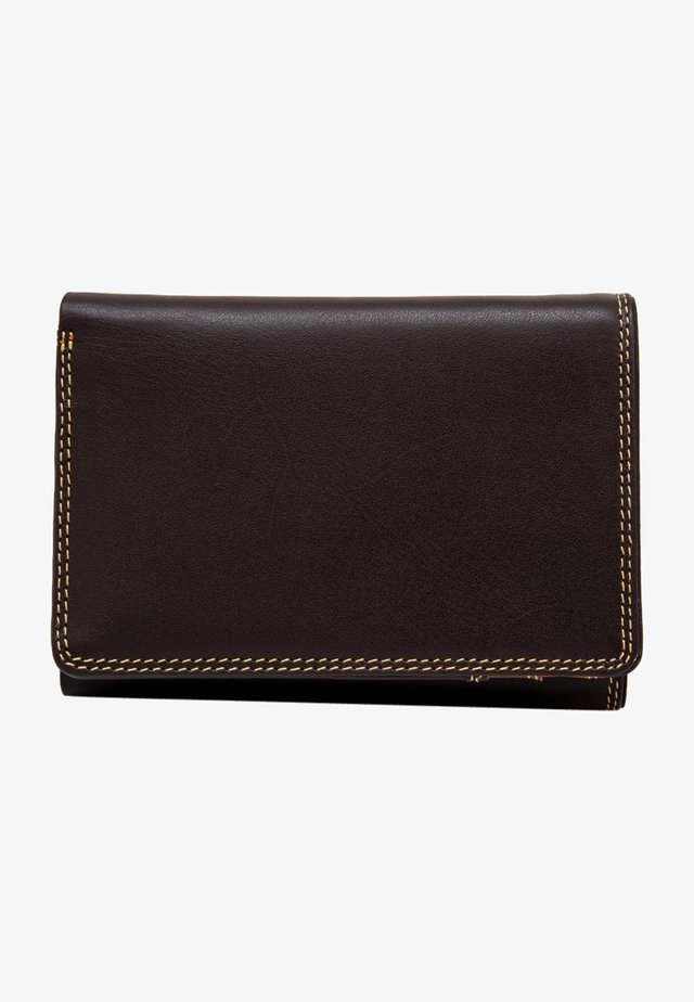 TRI FOLD  - Wallet - dark brown