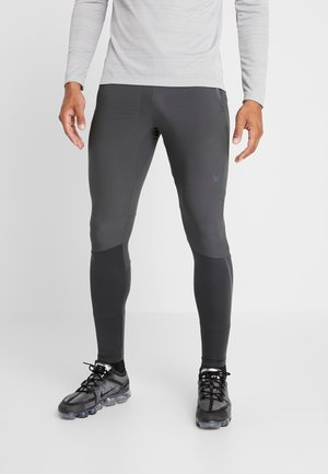 SWIFT PANT - Verryttelyhousut - dark smoke grey/black