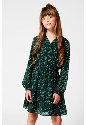 DANA - Day dress - bottle green