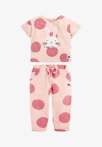 Next - SET BUNNY - Teplákové kalhoty - pink - 0