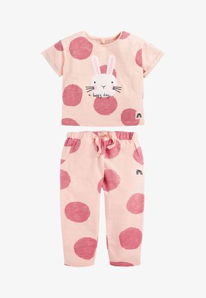 SET BUNNY - Tracksuit bottoms - pink