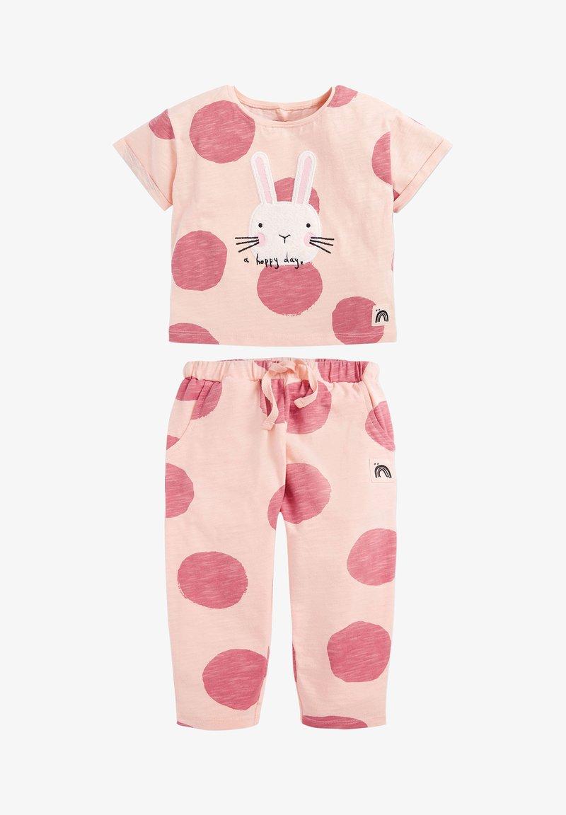 Next - SET BUNNY - Teplákové kalhoty - pink
