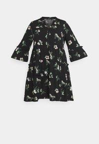 VMSIMPLY EASY SHORT DRESS - Shirt dress - black