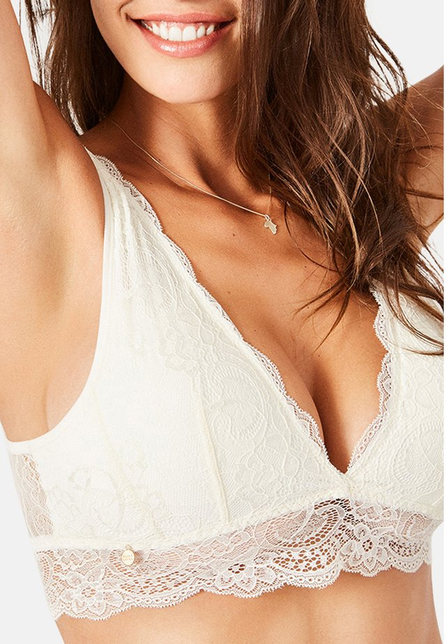 REGINA - Triangle bra - off white