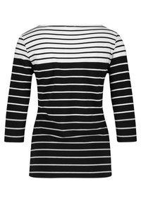 Gerry Weber - MIT RINGELDESSIN - Long sleeved top - black, white - 4