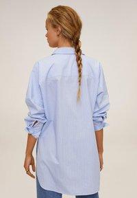 Mango - WILLY - Skjortebluser - blau - 2