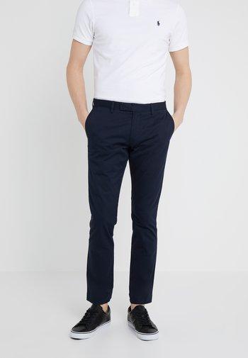 FLAT PANT - Trousers - aviator navy