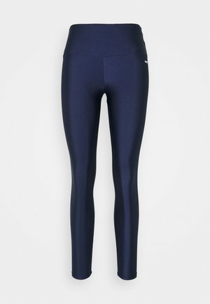 SHINE ZIP LEGGING - Leggings - medieval blue