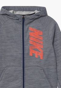 Nike Performance - THERMA HOODIE - Training jacket - midnight navy - 2