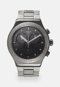 Swatch - SILVER EXPLOSION - Chronograph watch - silver-coloured - 0