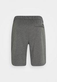 Calvin Klein Tailored - REGULAR FIT PUNTO MILANO - Kraťasy - dark grey heather - 1