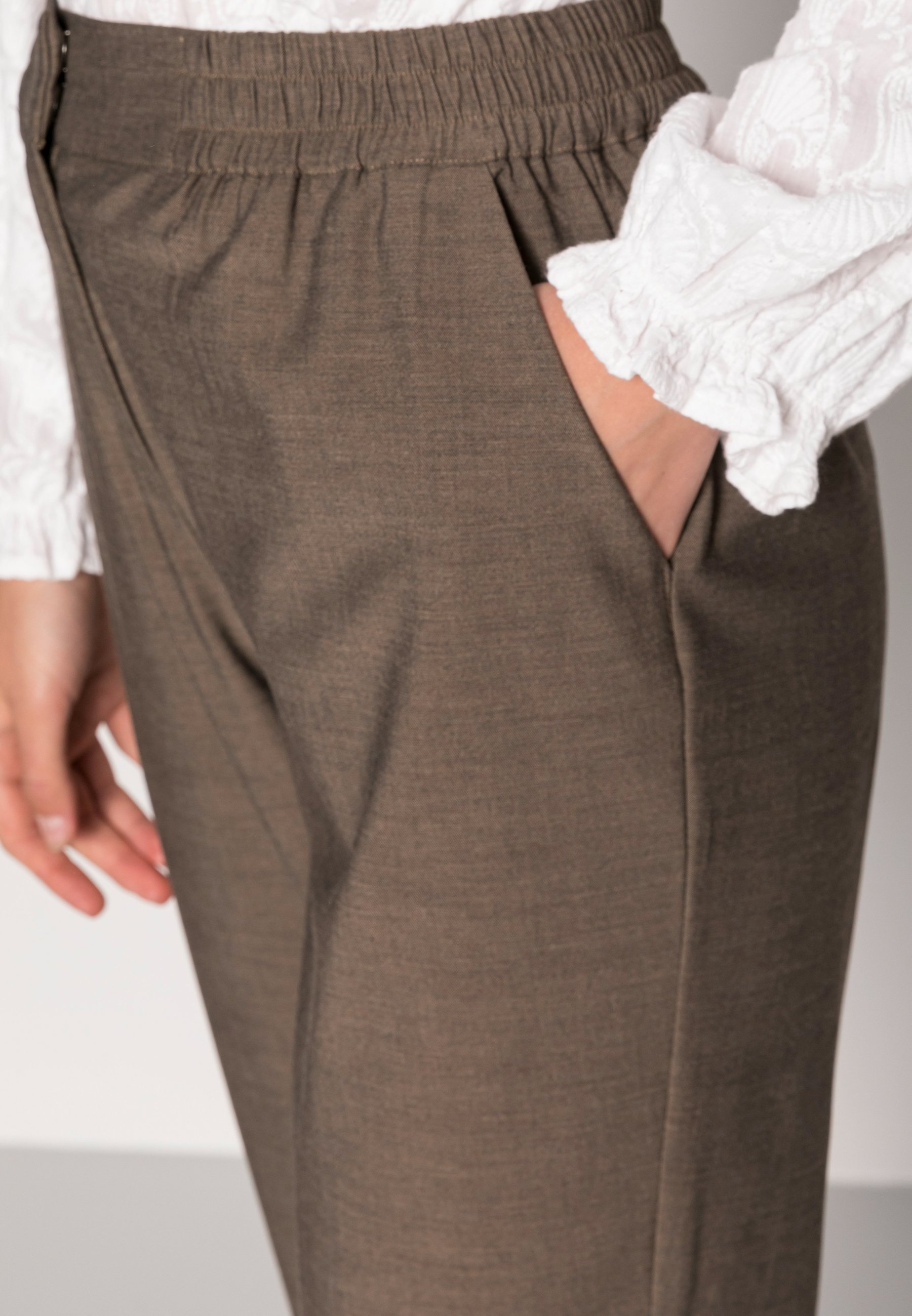 Damer AMALIE ANKLE PANTS - Bukser