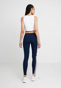 adidas Originals - ADICOLOR TREFOIL TIGHT - Leggings - collegiate navy - 2
