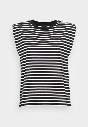 SELEF - T-shirts med print - black