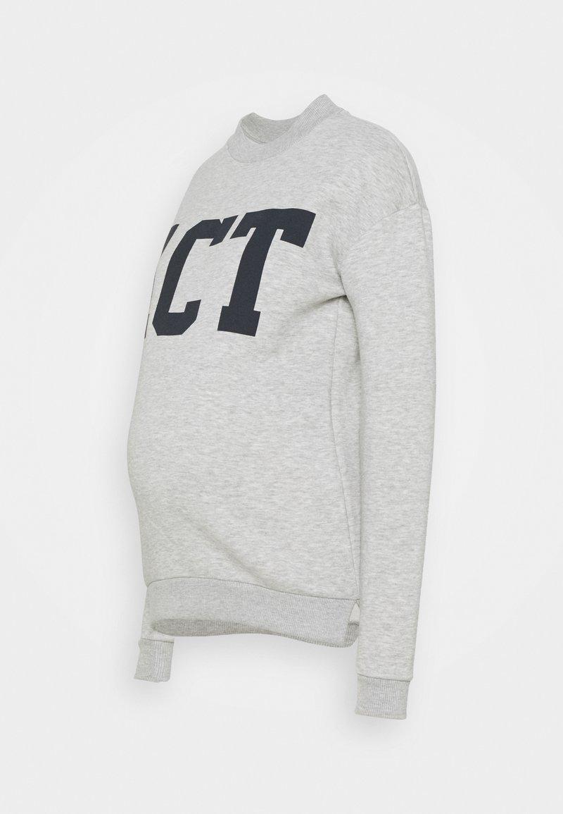 Pieces Maternity - PCMLARA - Sweatshirt - light grey melange