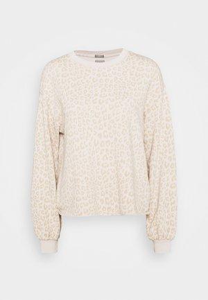 RAW EDGE FASH - Sweatshirt - beige