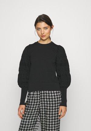 ONLMELITA O NECK - Jersey de punto - black