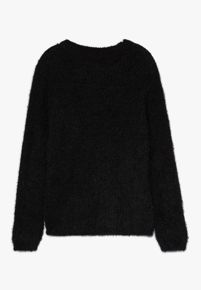 LAZILU - Pullover - black