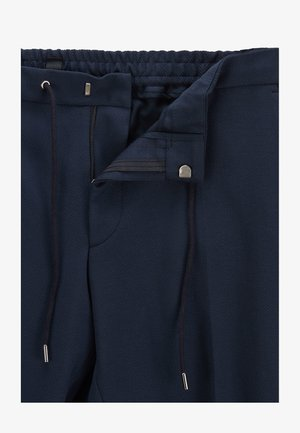 BANKS - Tracksuit bottoms - dark blue
