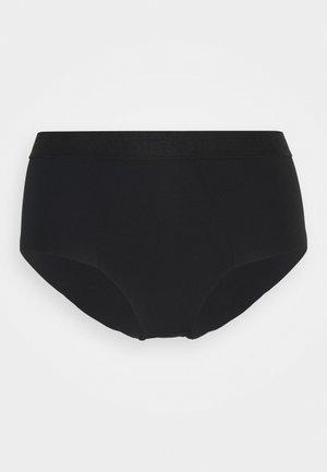 HIGH RISE CULOTTE - Briefs - black