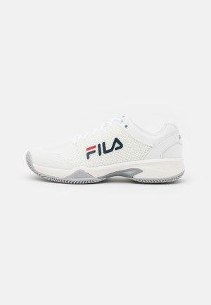WOMEN - Tenisové boty na všechny povrchy - white