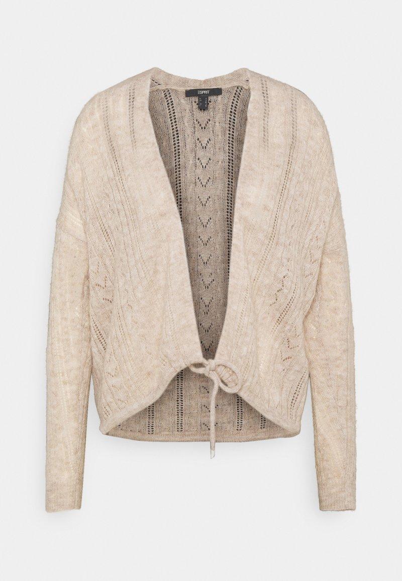 Esprit Collection - POINTELLES  - Cardigan - sand