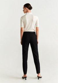 Mango - BOREAL6 - Spodnie garniturowe - black - 2