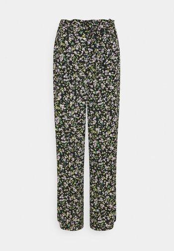 FLUID PANT - Trousers - floral print