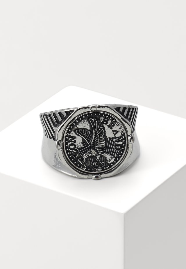 EAGLECOIN SIGNET - Bague - silver-coloured