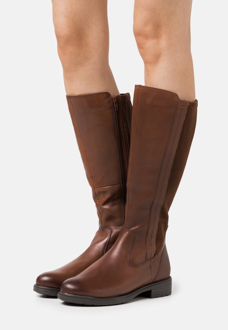 Jana - Boots - chestnut