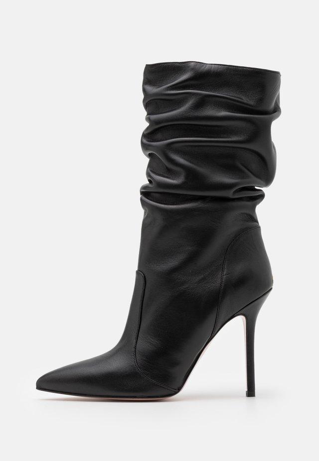 MARILYN - High heeled boots - black