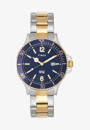 HARBORSIDE 42 mm BRACELET - Horloge - silver-coloured/gold-coloured/blue