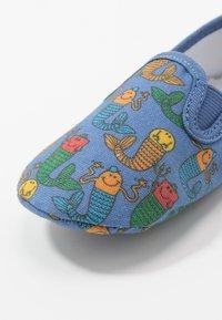 Walnut - MINI CHARLIE - First shoes - deep blue sea - 2