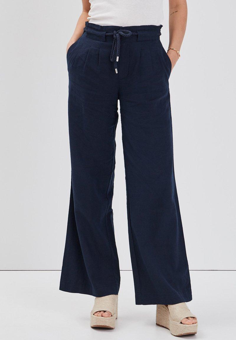 Cache Cache - Trousers - bleu marine