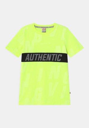 HECELLO - T-shirts print - neon yellow