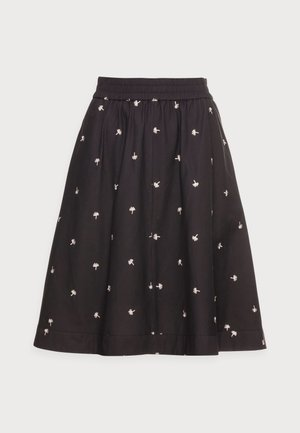 LIDA SKIRT - A-line skirt - black seeds