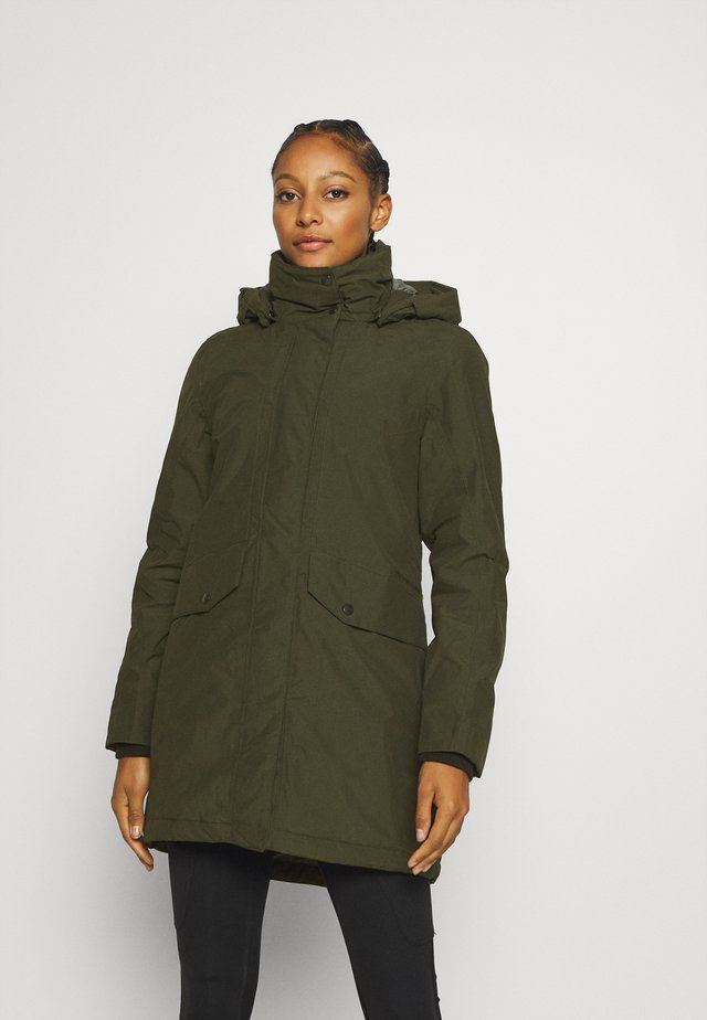 SANNA - Parka - forest green