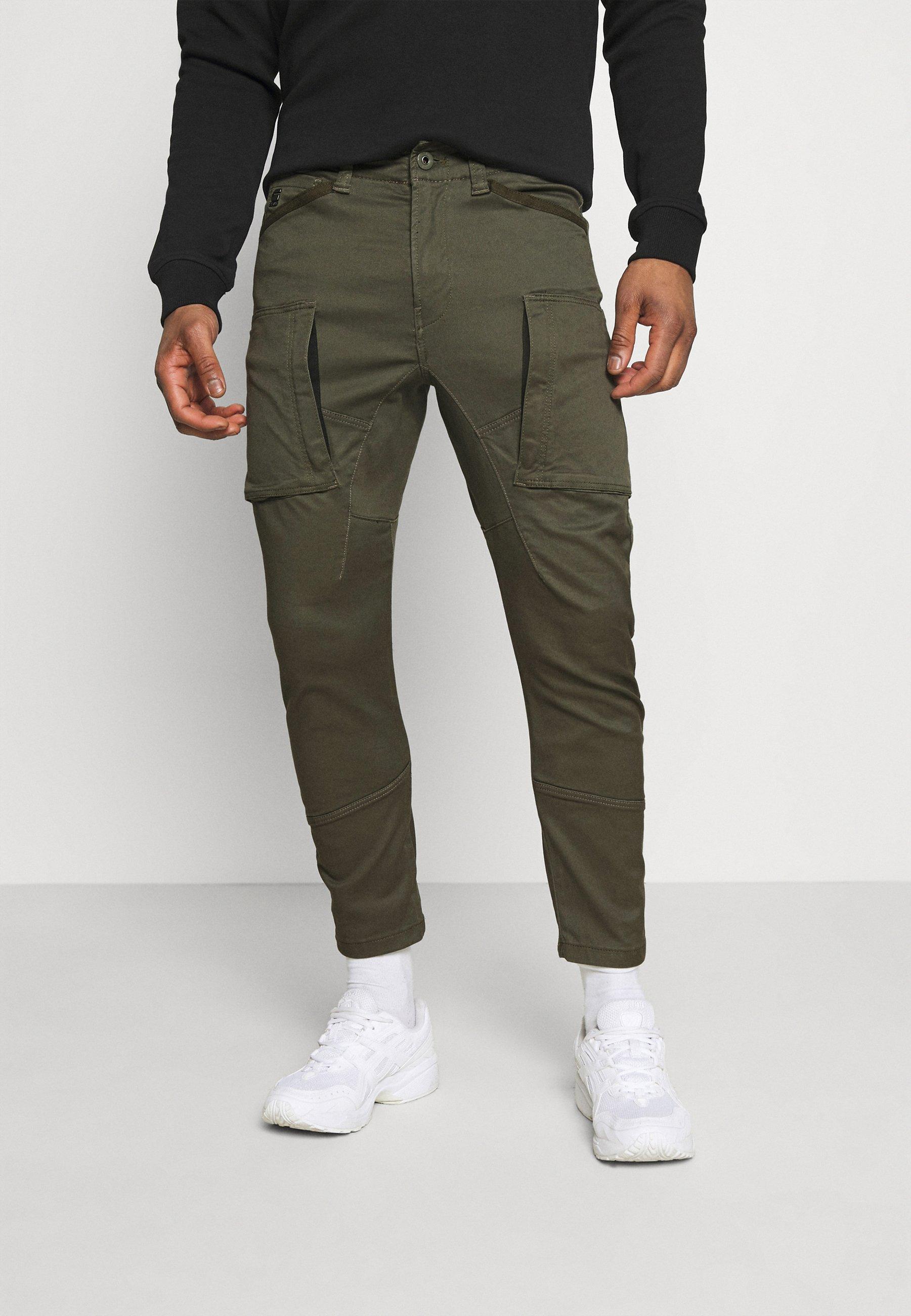 Homme ZIP 3D CARGO - Pantalon cargo