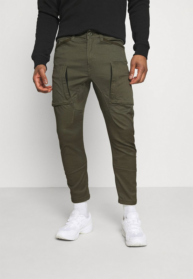 G-Star - ZIP - Cargo trousers - olive
